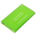2000mAh Emergency Power Rechargeable Battery Pack with USB Port (Green)