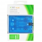 Internal Hard Drive Disk Case for Xbox 360 Slim - Translucent Blue