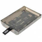 Internal Hard Drive Disk Case for Xbox 360 Slim - Translucent Black