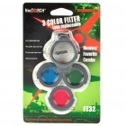 Nextorch FT32 3-Color Filters Set (Lens Replaceable)