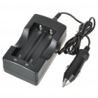 CC7 Car Charger for 18650 Li-ion Battery (10~24V)