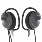 Genuine Sony MDR-Q21LP Ear-Hook Earphones - Black (3.5mm Jack/1M-Cable)