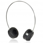 Rapoo H6000 2.4GHz USB Rechargeable Bluetooth V2.1+EDR Wireless Headphone with Microphone (Black)