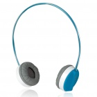 Rapoo H6000 2.4GHz USB Rechargeable Bluetooth V2.1+EDR Wireless Headphone with Microphone (Blue)