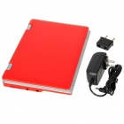 "7.0"" TFT LCD Android 1.6 VIA8505 CPU WiFi UMPC Netbook - Red (300MHz/2GB/3-USB/SD/LAN)"