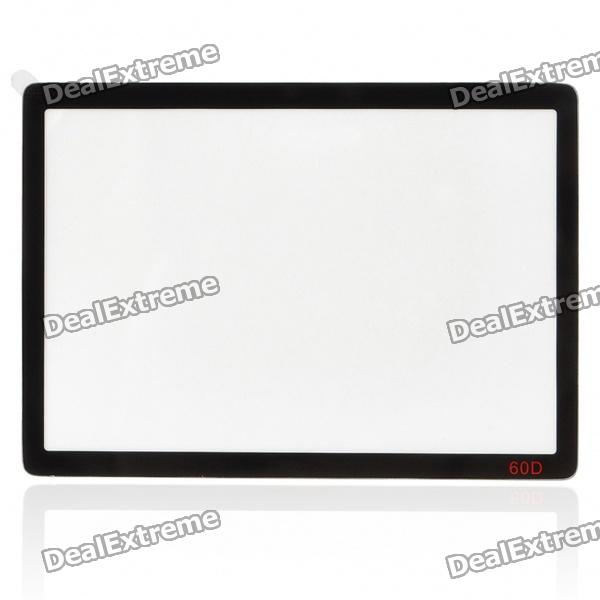 DSLR LCD Screen Protector for Canon 60D