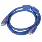 Gold Plated 1080P V1.4 HDMI Male to Male Shielded Connection Cable (1.5M-Length)