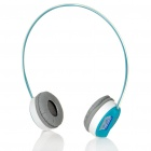 Genuine Rapoo H3000 2.4GHz Wireless Headphone with Microphone & USB Receiver - Blue