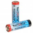 Nextorch 1.5V 900mAh AA Li-FeS2 Batteries (Pair)