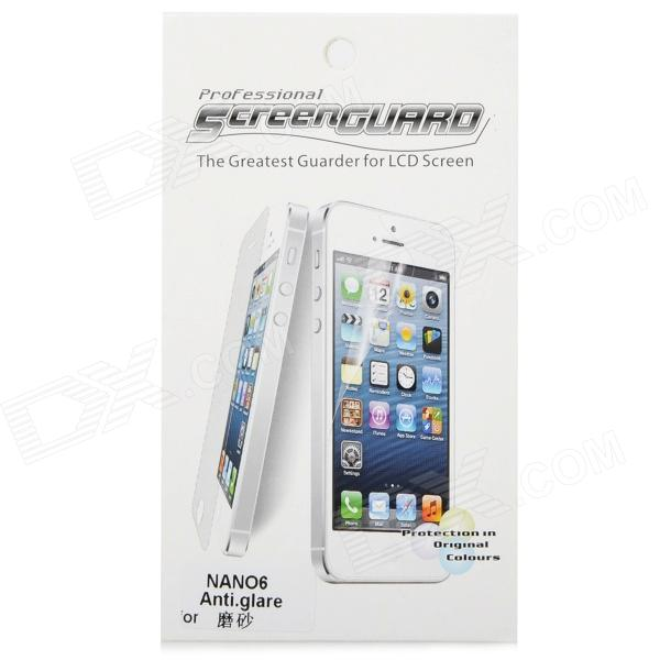 Resistant LCD Screen Protector with Cleaning Cloth for Ipod Nano 6