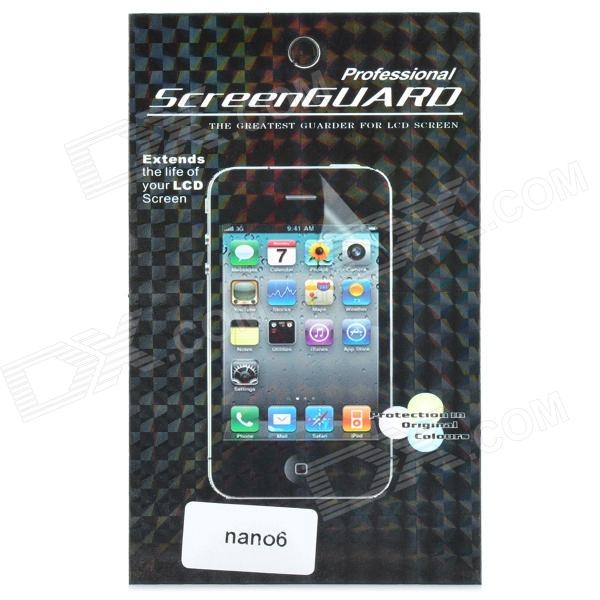 LCD Screen Protector with Cleaning Cloth for Ipod Nano 6