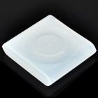 Protective Silicone Case for iPod Shuffle 6 - White