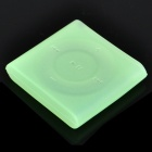 Protective Silicone Case for iPod Shuffle 6 - Light Green