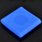 Protective Silicone Case for iPod Shuffle 6 - Dark Blue