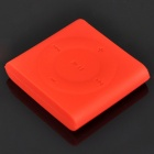 Protective Silicone Case for iPod Shuffle 6 - Red