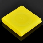 Protective Silicone Case for iPod Shuffle 6 - Yellow