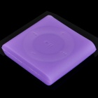 Protective Silicone Case for iPod Shuffle 6 - Purple