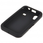 Replacement 3.7V 1500mAh Rechargeable Lithium Battery with Silicone Case for Samsung S5830 - Black