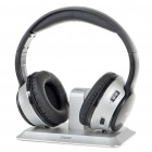 Genuine Rapoo H9010 2.4GHz Wireless Headphone - Black + Silver