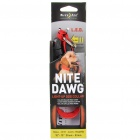 Nite Ize 2-Mode Light Up Red LED Light Dog Collar - Red (1 x CR2032/Size-S)