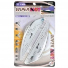 Plastic Wiper Mate Wings for Car - Silver (Pair)