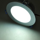 High Brightness 12W 12-LED 1080LM White LED Ceiling Lamp/Down Light (85~265V)