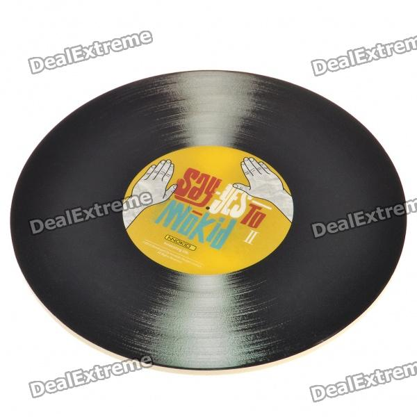 Creative Vinyl Records Shaped Mouse Mat Pad