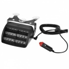 Car Cigarette Powered Vehicle 18-LED Red + Blue 3-Mode Strobe Light (DC 12V)