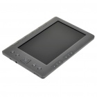 "7.0"" TFT LCD E-Book Reader 720P Music/Video Media Player w/ Voice Recorder/FM/TF - Grey (4GB)"