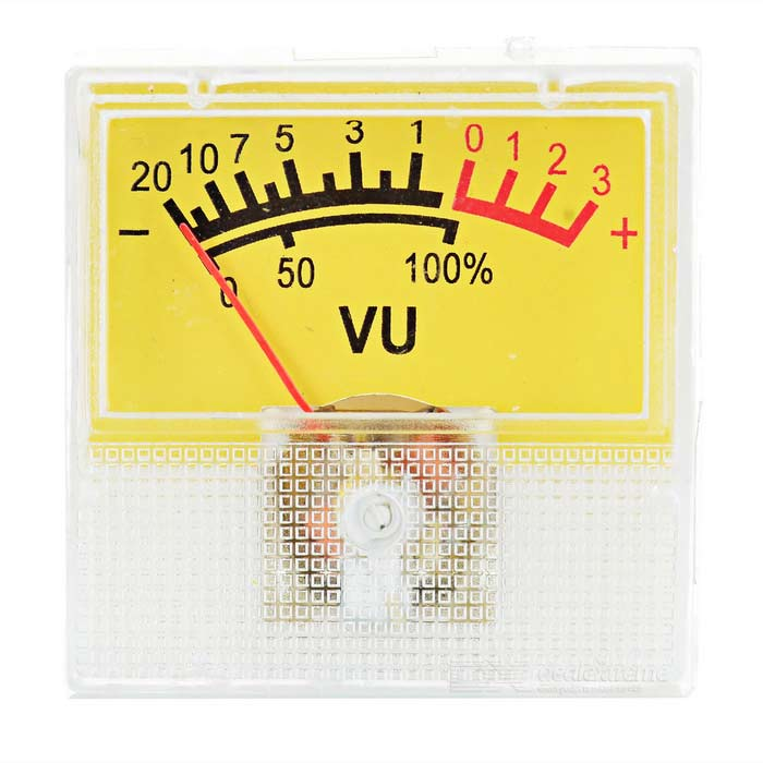 500uA VU Current Meter