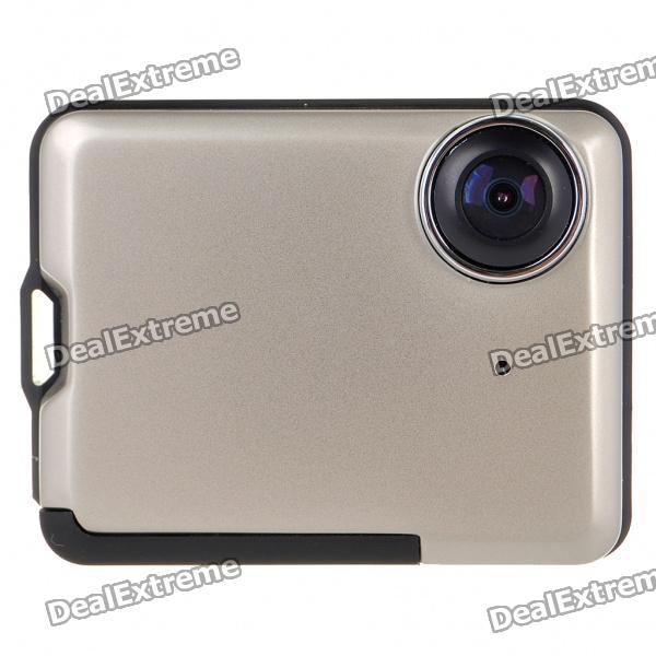 Wide Angle Digital 1.3MP CMOS Car DVR Camcorder w/ HDMI/TF - Black + Silver (2.0