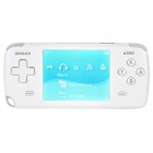"Dingoo A330EX 3.0"" LCD Portable Game Console Multi-Media Player w/ FM/TV-Out/Mini SD - White (4GB)"