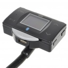 "1.5"" LCD MP3 Player FM Transmitter + Bluetooth Hands-Free with Steering Wheel Mount Control"