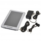 "7.0"" LCD E-Book Reader 720P Music/Video Media Player w/ Microphone/FM/TF - White (4GB)"