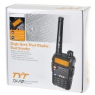 TYT TH-F8 2-Way rádio 128 canais de walkie talkie