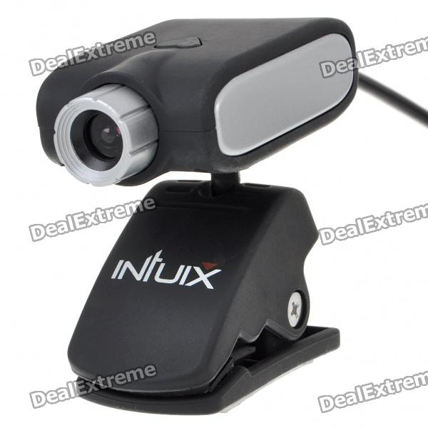 300K Pixel 1/4 CMOS PC USB Webcam with Clip