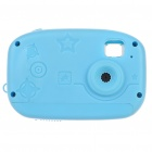 Ultra Mini Multi-Function 300 KP Digital Camera for Children - Blue (1xAAA/128MB)