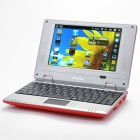 "7.0"" TFT LCD Android 2.2 VIA 8650 CPU WiFi UMPC Netbook - Red (349.79MHz/2GB/3-USB/SD/LAN)"