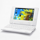 "7,0 ""TFT LCD Android 2.2 VIA 8650 CPU WiFi UMPC Netbook - White (349.79MHz/2GB/3-USB/SD/LAN)"