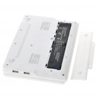 "7.0"" TFT LCD Android 2.2 VIA 8650 CPU WiFi UMPC Netbook - White (349.79MHz/2GB/3-USB/SD/LAN)"