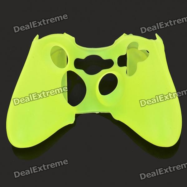 Silicone Protective Case for Xbox 360 Controller - Yellow protective silicone cover case for xbox 360 controller yellow blue