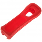 Genuine Protective Silicone Sleeve for Wii Remote - Red