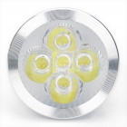 MR16 5W 5-LED 6000K 450-Lumen bombilla (dc 12V)