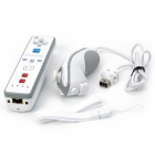 Nunchuk Controller + Remote Controller with Motion Plus for Nintendo Wii - White