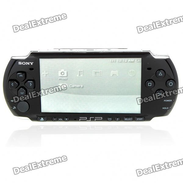 "Genuine SONY PSP 3000 4.3"" LCD Game Console Core Pack - Piano Black"