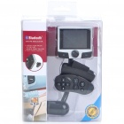 "2.4"" LCD Bluetooth FM Transmitter MP4 Player with Steering Wheel Mount Remote (2 GB/SD/USB/3.5MM)"