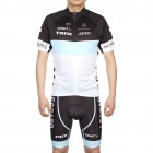 Leopard Trek Team Short Sleeve Bicycle Bike Riding Suit Sports Clothes Set (Size-XXL/175-185cm)