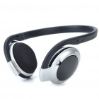 H-580 Bluetooth V2.0+EDR A2DP Handsfree Stereo Headset - Silver + Black (13-Hour Talk)