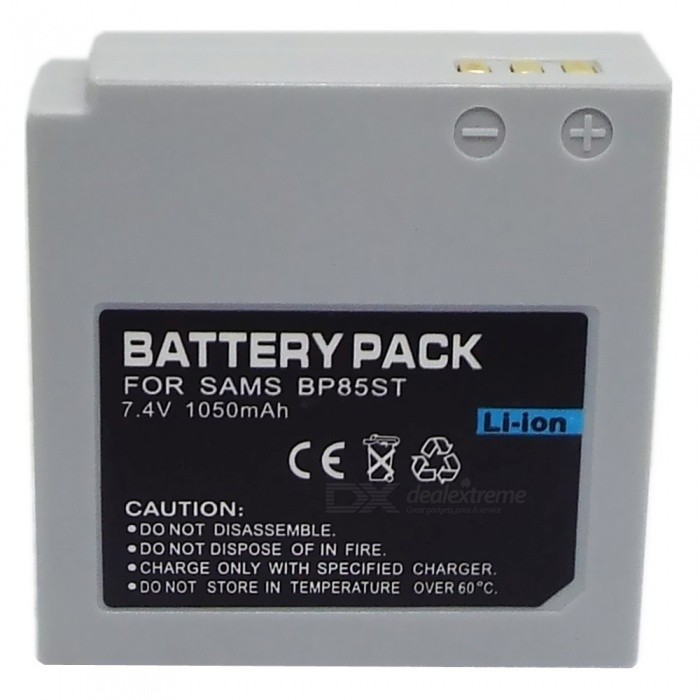 Replacement IA-BP85ST Compatible 7.4V 850mAh Battery Pack for Samsung Camera bp 208 compatible 850mah battery pack for canon mvx1sidc10 dc20 more