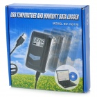 "1.3"" LCD USB Temperature and Humidity Data Logger (1 x CR2032)"